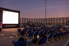 Kino samochodowe w Galerii Korona w Kielcach