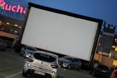Trafikino - kino samochodowe na parkingu Ikea Kraków