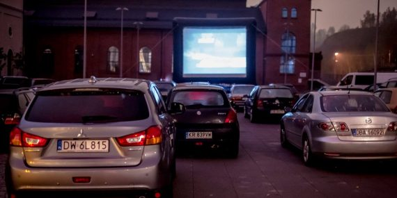 Kino samochodowe Stara Kopalnia w Wałbrzychu