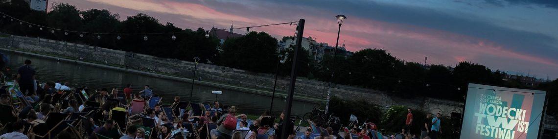 Kino plenerowe w Krakowie na Wodecki Twist Festival